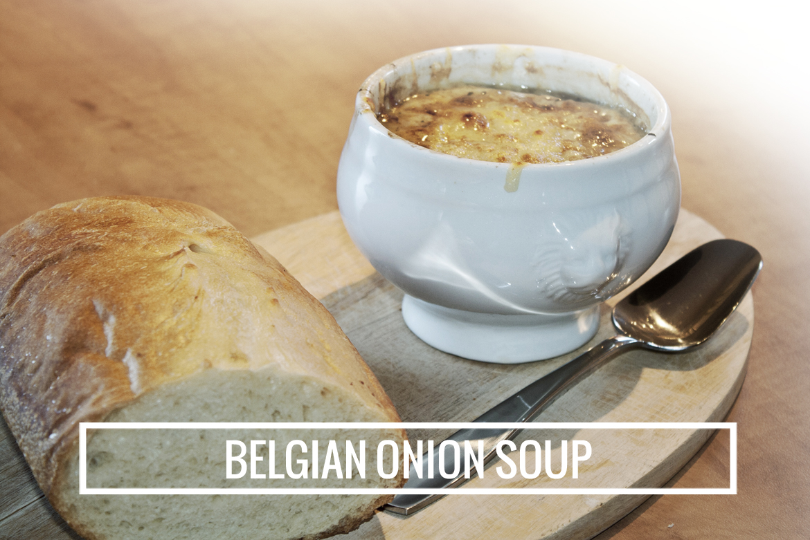 Cook it / Belgian onion soup - COLOURS & BEYONDCOLOURS & BEYOND