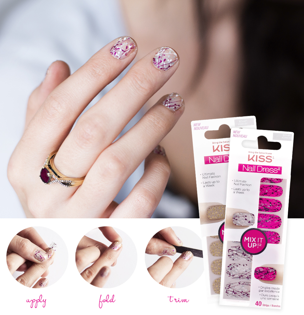 KISS Nail Dress Mix It Up - COLOURS & BEYONDCOLOURS & BEYOND