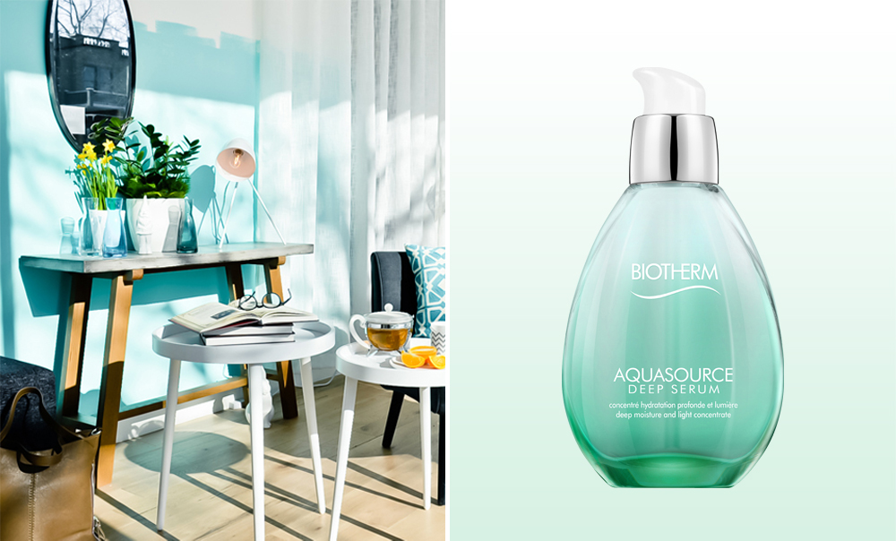 Aquasource deep serum from Biotherm